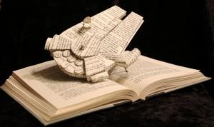Il Millennium Falcon è pronto al decollo. E la lettura si trasforma in un'avventura stellare.