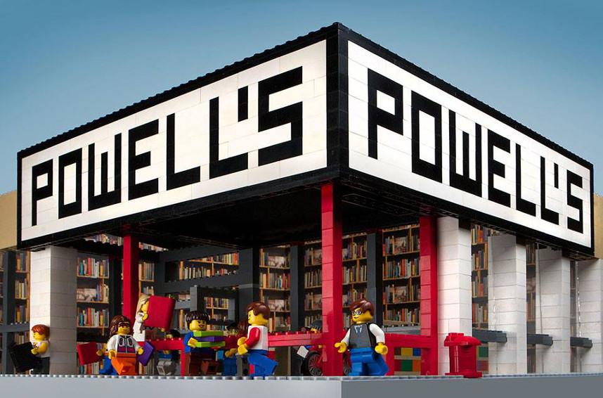 Le librerie fatte di LEGO