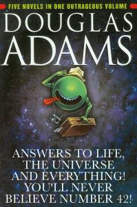 """""""Guida galattica per gli autostoppisti"""", di Douglas Adams, diventa """"Risposte sulla vita, sull'universo e su tutto ciò che ci circonda. Non crederai mai alla numero 42!"""""""