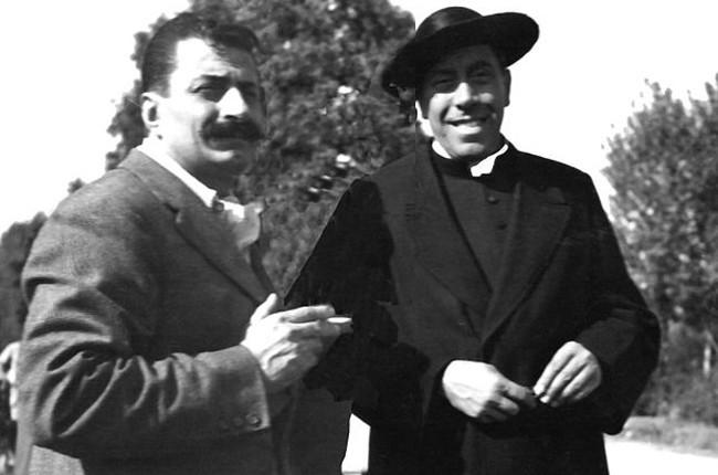 Giovannino guareschi e Fernandel