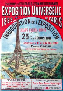 Parigi 1889. Organizzato nel centenario della Rivoluzione francese, è stato uno dei primi grandi eventi a energia elettrica.