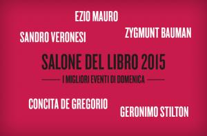 Salone internazionale del libro Torino 2015 eventi domenica