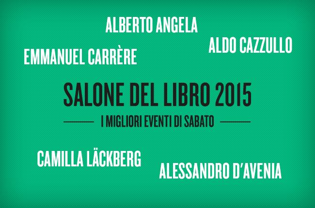 Salone internazionale del libro Torino 2015 eventi sabato