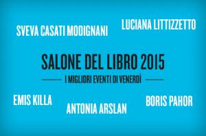 Salone internazionale del libro 2015 eventi venerdì