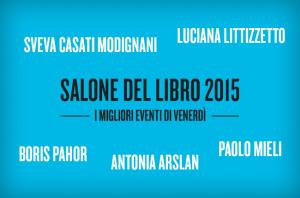 Salone internazionale del libro Torino 2015 eventi venerdì