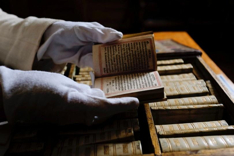 la biblioteca portatile del 1617
