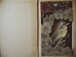 Elementi animali e floreali sono spesso i protagonisti delle opere dell'artista.