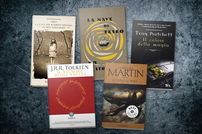 I 5 migliori romanzi fantasy per adulti for Bei romanzi da leggere