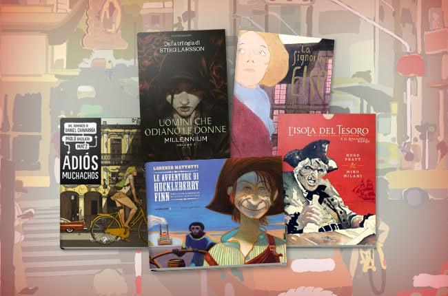cover romanzi a fumetti