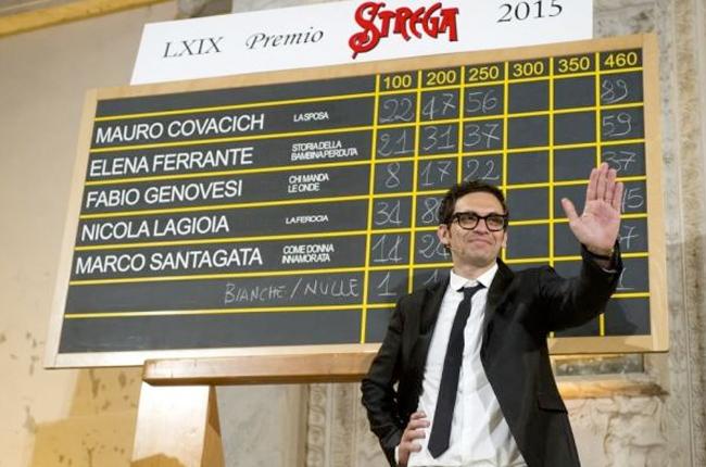 Nicola Lagioia vince il Premio Strega