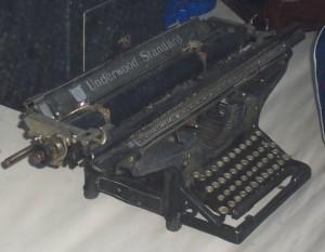 La Underwood Standard usata da Charles Bukowski, Jack Kerouac, Virginia Woolf e F. Scott Fitzgerald.