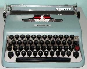 macchina da scrivere 4