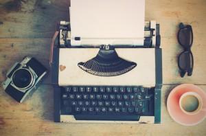 macchine da scrivere degli scrittori
