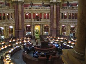 La biblioteca del Congresso di Washington è immensa. Ti diamo qualche numero: oltre 150 milioni di libri riposano, in attesa di essere letti, su 830 mila scaffali. (Photo Credits maveric2003)