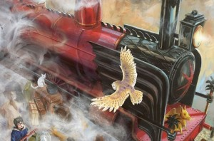 Harry Potter libro illustrato