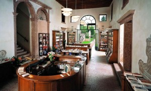 Per non andare troppo lontano, ti consigliamo questa biblioteca da vedere a Bassano del Grappa, in Veneto. Si tratta della