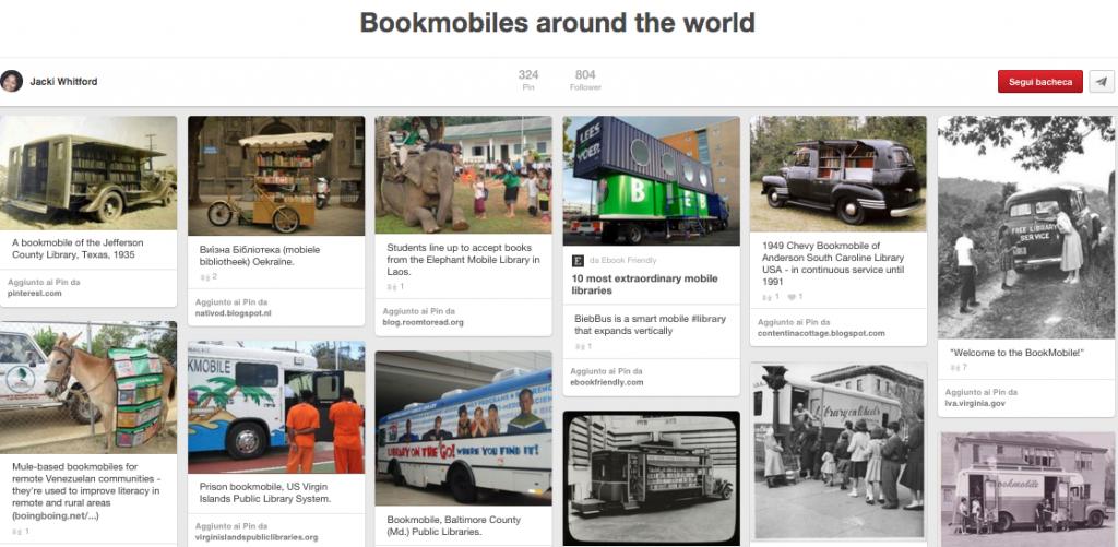 Bookmobiles Around the World