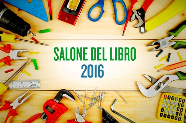 Il kit per il Salone del Libro 2016