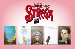 La cinquina dei finalisti al Premio Strega 2016