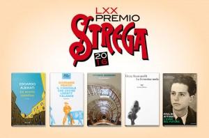 La cinquina di finalisti al Premio Strega 2016