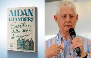 """Aidan Chambers ha vinto la Carnegie Medal con """"Cartoline dalla terra di nessuno"""" nel 1999"""