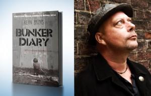 "Kevin Brooks ha vinto la Carnegie Medal con ""Bunker Diary"" nel 2014"