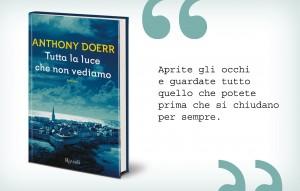 Tutta la luce che non vediamo, Anthony Doerr, Rizzoli