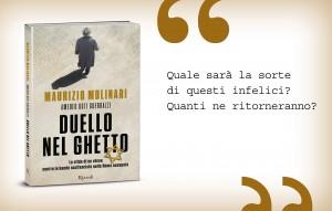 Duello nel ghetto, Maurizio Molinari e Amedeo Osti Guerrazzi, Rizzoli