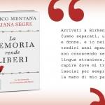 La memoria rende liberi, Liliana Segre ed Enrico Mentana, Bur
