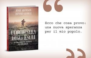 L'orchestra degli esuli, Josh Aronson e Denise George, Rizzoli
