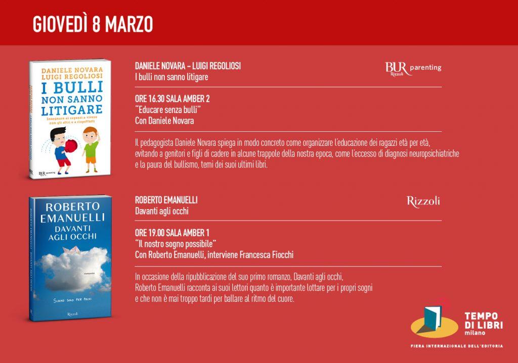tempo di libri 8 marzo