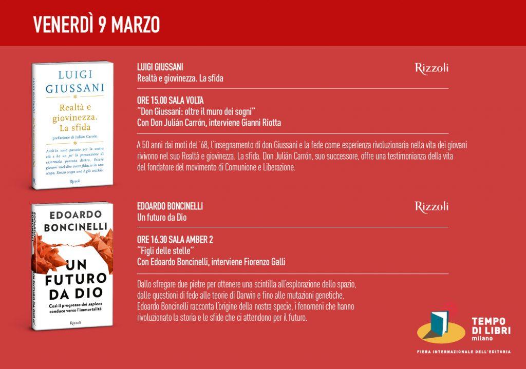 Tempo di libri 9 marzo