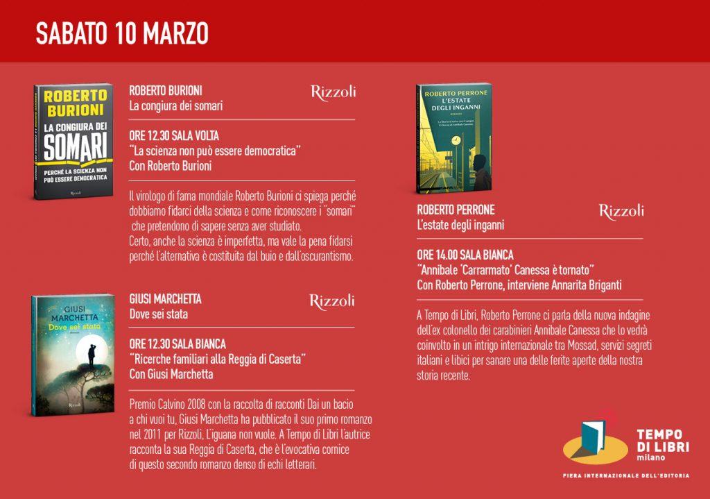 Tempo di libri 10 marzo