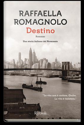 Destino Raffaella Romagnolo cover libro