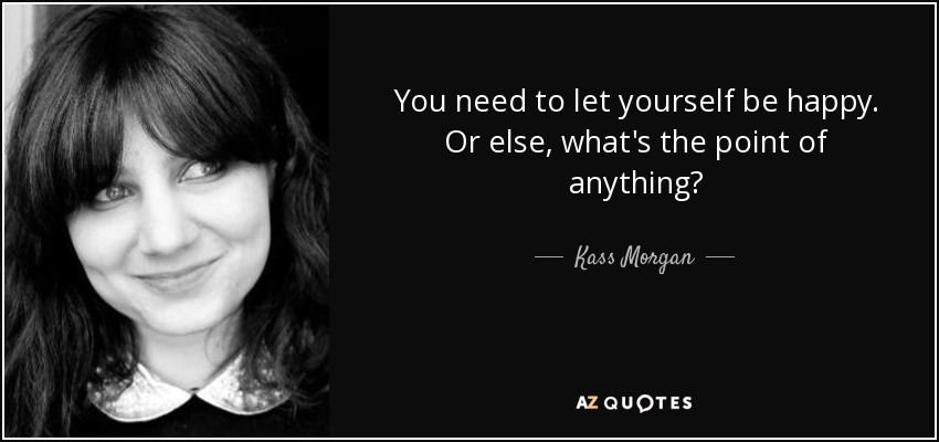kass morgan quote