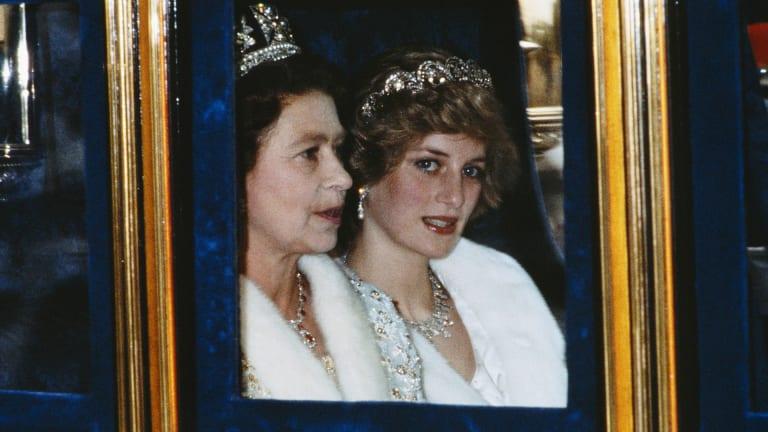 queen elizabeth diana