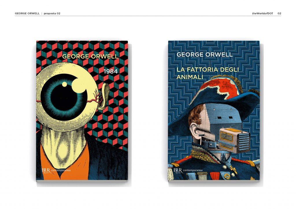 prove di copertina George Orwell 3