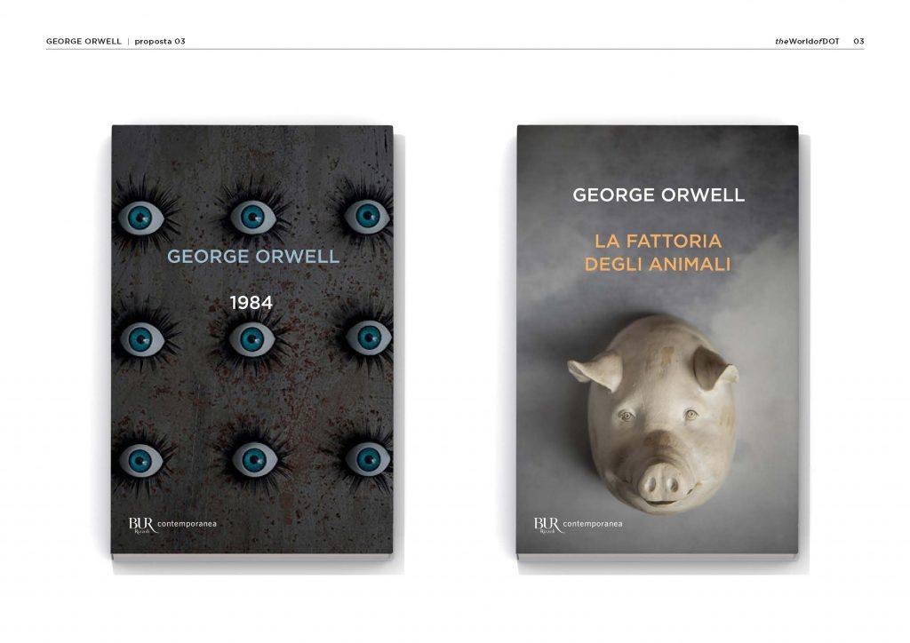 prove di copertina George Orwell BUR 2